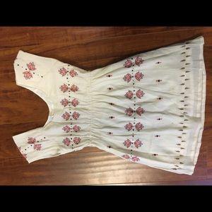 Anthropologie tunic dress size m